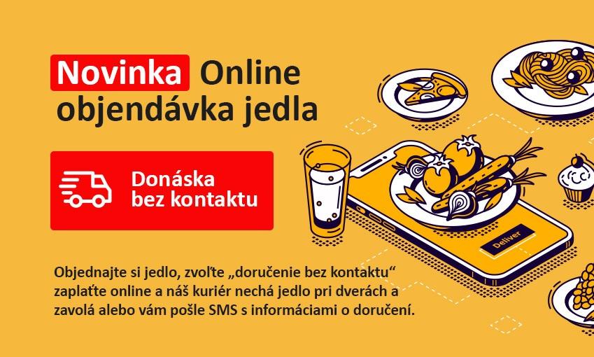 Online objednávka jedla